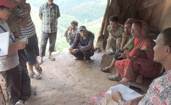 IWMI researchers visit Far West Nepal research sites-hpt
